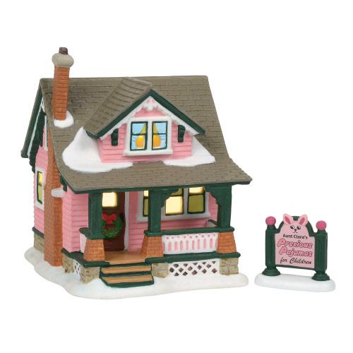 auntclarashouse - A Christmas Story Village